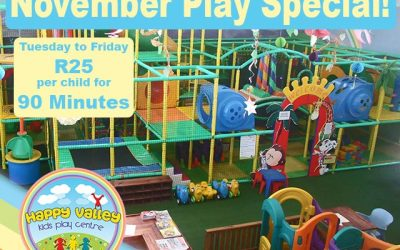 November Special at Happy Valley Kids Play Centre in George